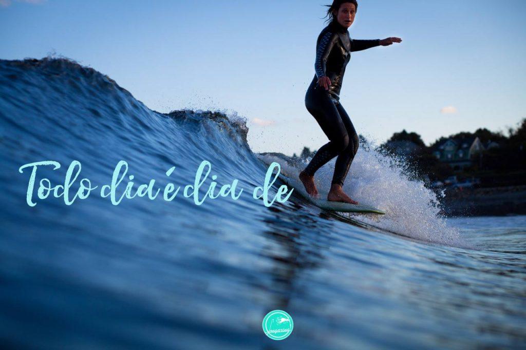 Longarina oferece conteúdo e atividades para meninas interessadas no surf