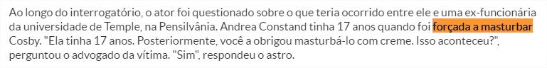 Bill Cosby admite ter abusado sexualmente de duas adolescentes Viver Diario de Pernambuco - Google Chrome