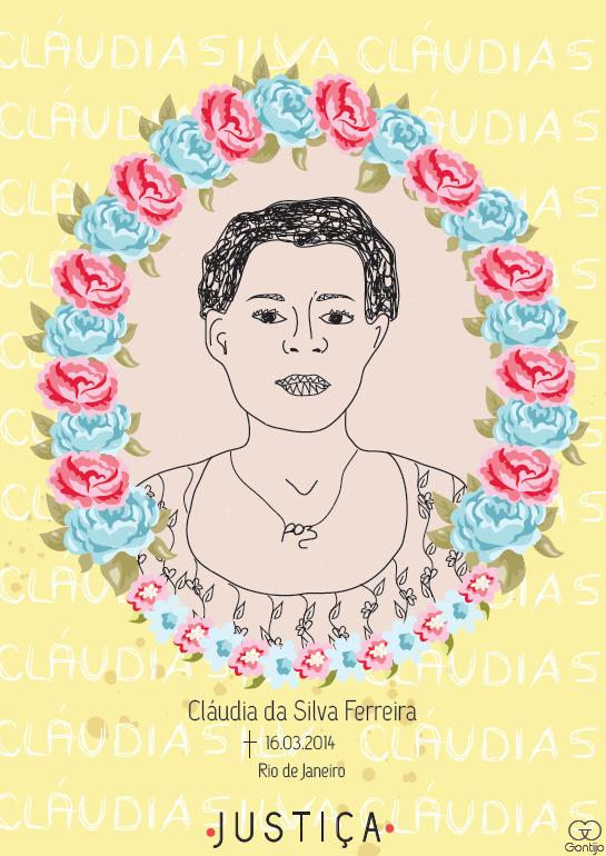 Desenho Cláudia