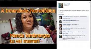 Ataque a Marinalva no Facebook