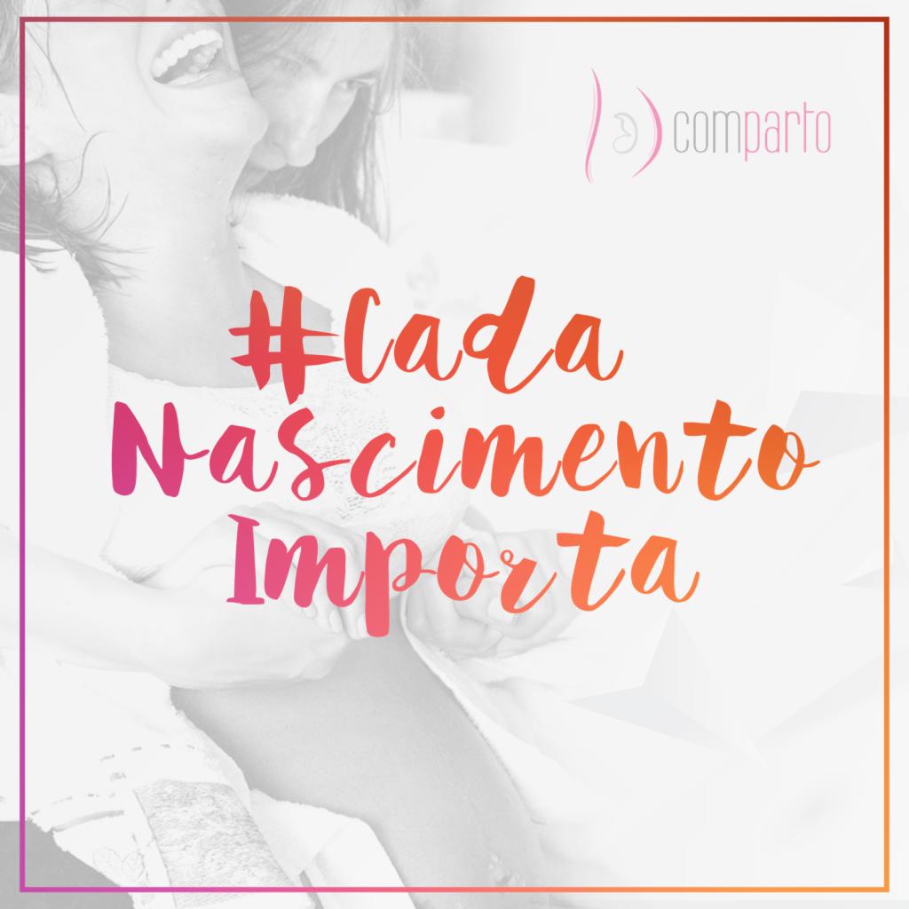 A campanha #cadanascimentoimporta da Comparto quer democratizar o conhecimento sobre o parto